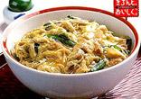 ベーコンの柳川丼