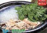 豚肉ときくなの鍋