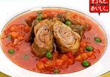 きゃべつと豚肉のトマト煮