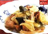 豚肉と夏野菜のスープ煮