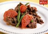 牛肉とトマトの炒めもの
