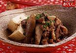 牛肉とごぼうと豆腐のみそ煮