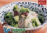 ブロッコリーと春雨の中国風煮物