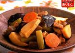 厚あげと野菜の五目煮