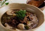 牛肉と里いものスープ煮