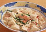 かにと豆腐の炒め煮