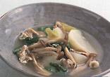 豚肉とかぶのスープ