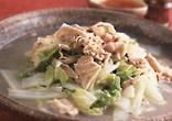 白菜と豚ばら肉の蒸し煮