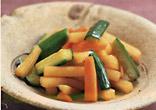 野菜のしょうゆ漬け