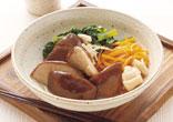 椎茸と小松菜のさっと煮