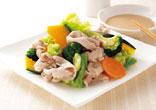 温野菜のしゃぶしゃぶサラダ