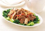 牛肉の中華風炒め