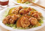 鶏の唐揚げ甘酢ソース