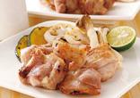 鶏の酒塩グリル焼き