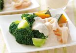 温野菜サラダ明太子ソース
