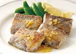 太刀魚のムニエルレモンバターソース