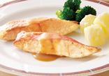 金目鯛のムニエルバターポン酢ソース