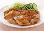 豚肉のマーマレード生姜焼き