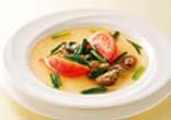 牛肉とトマトのスープ