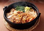 豚肉のキムチ鍋