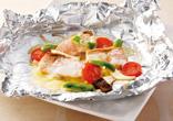 鮭のチーズホイル焼き
