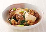 肉キムチ豆腐