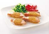 鮭の味噌マヨネーズ