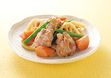 鶏肉と根菜の照り煮