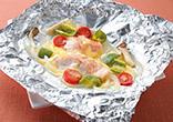 金目鯛のチーズホイル焼き