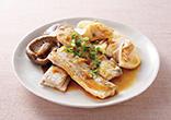 太刀魚の生姜ソース