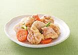 鶏肉と里芋のごま味噌煮