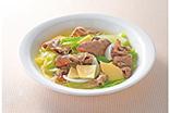 牛肉と春野菜の中華スープ煮