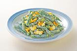 三度豆とゆで卵のサラダ