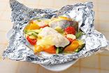 たらと彩り野菜のホイル焼き