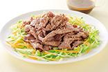 牛肉のサラダ仕立て