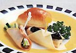 ハムとチーズの野菜巻き