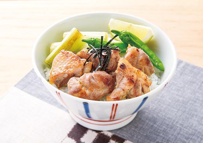 丼 レシピ 焼き鳥