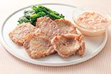 豚肉のソテー・キャロットマヨネーズ