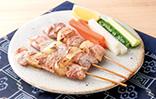 豚肉と新たまねぎの串焼き