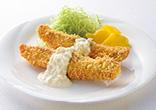 鮭フライマヨレモンソース