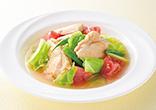 チキンとトマトのスープ煮
