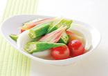夏野菜のレンジピクルス