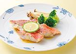 赤魚のムニエルレモンソース