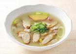 新ごぼうの味噌スープ