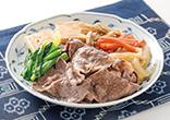 牛肉と豆腐の甘辛煮
