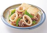 やりいかと豆腐の煮物