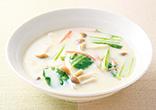 しめじの豆乳スープ