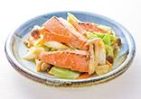 鮭と野菜の味噌焼き