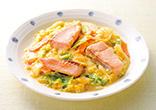 鮭の味噌マヨ焼き
