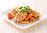 豚ヘレと野菜の焼き漬け